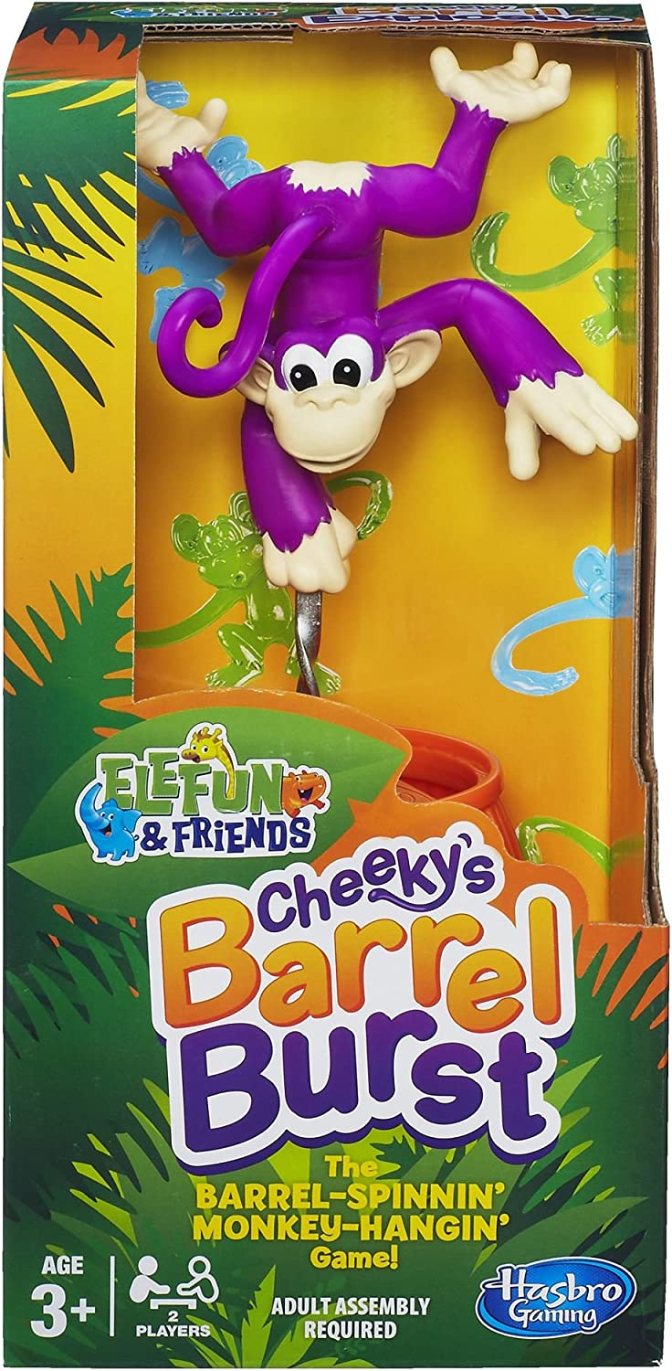 Preschool Gaming Hasbro Games Cheekys Barrel Burst - Juego de ...