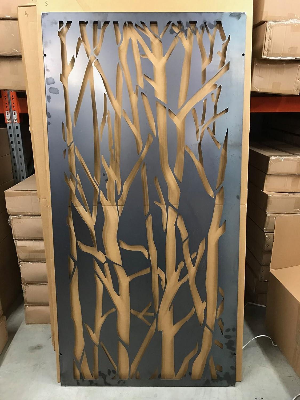 Ideal Patio /& Home Decor 180cm x 90cm Red Acer Expanding Willow Garden Trellis