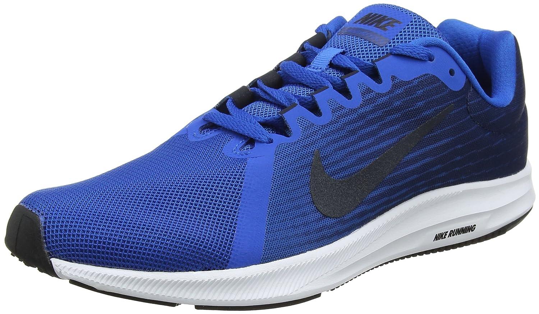 Nike Downshifter 8, Zapatillas de Running para Hombre 46 EU|Azul (Blue Nebula/Dark Obsidian-navy-white 401)