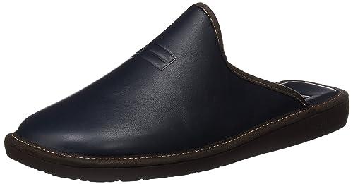Nordikas Top Line 188, Zapatillas de Estar por casa con talón Abierto para Hombre, Azul (Marino), 41 EU: Amazon.es: Zapatos y complementos