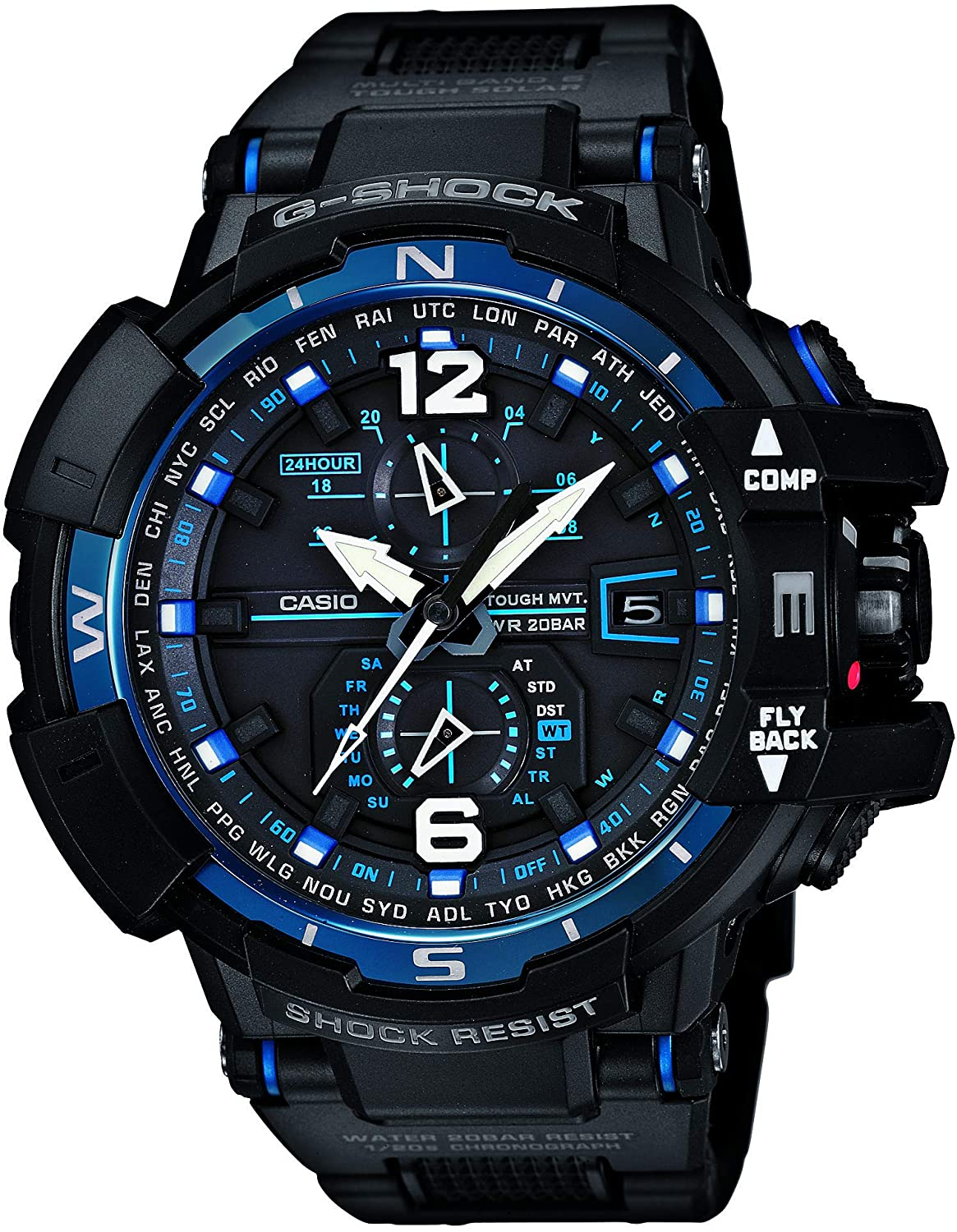 Casio G-SHOCK SKY COCKPIT TOUGH SOLAR MVT MULTIBAND6 GW-A1100FC-1AJF Watch Japan Import