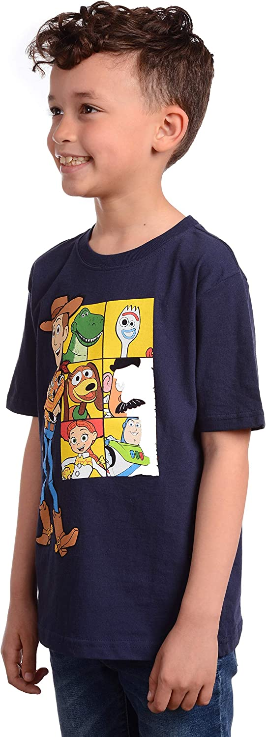 T-Shirt Pixar Little Boys Toy Story 4 Woody and Co