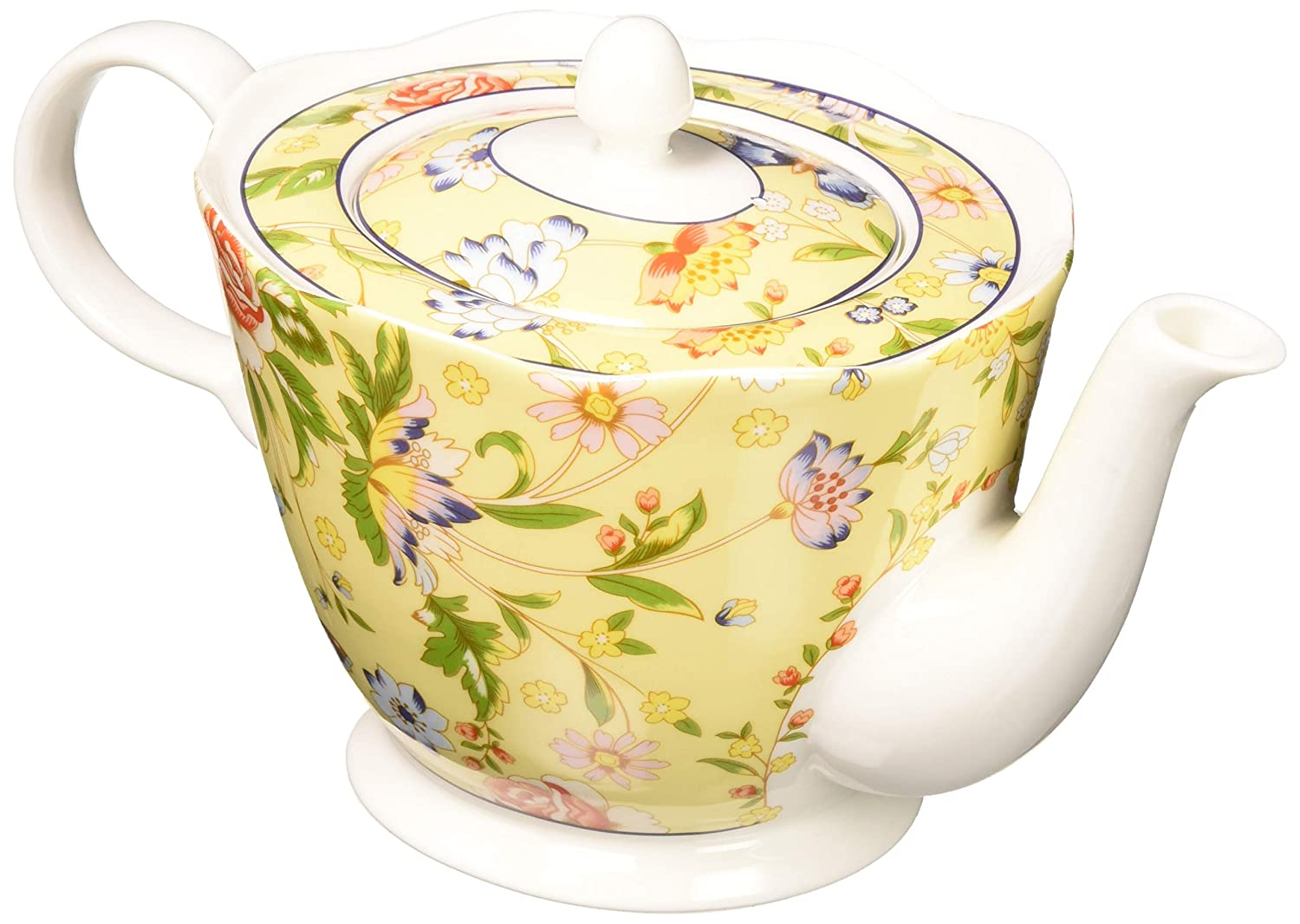 Belleek CLAS20015 Cottage Garden Teapot, Multicolor