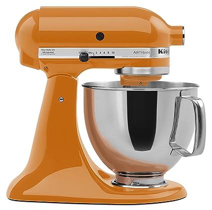 amazon com kitchenaid ksm150pstg artisan series 5 qt stand mixer rh amazon com