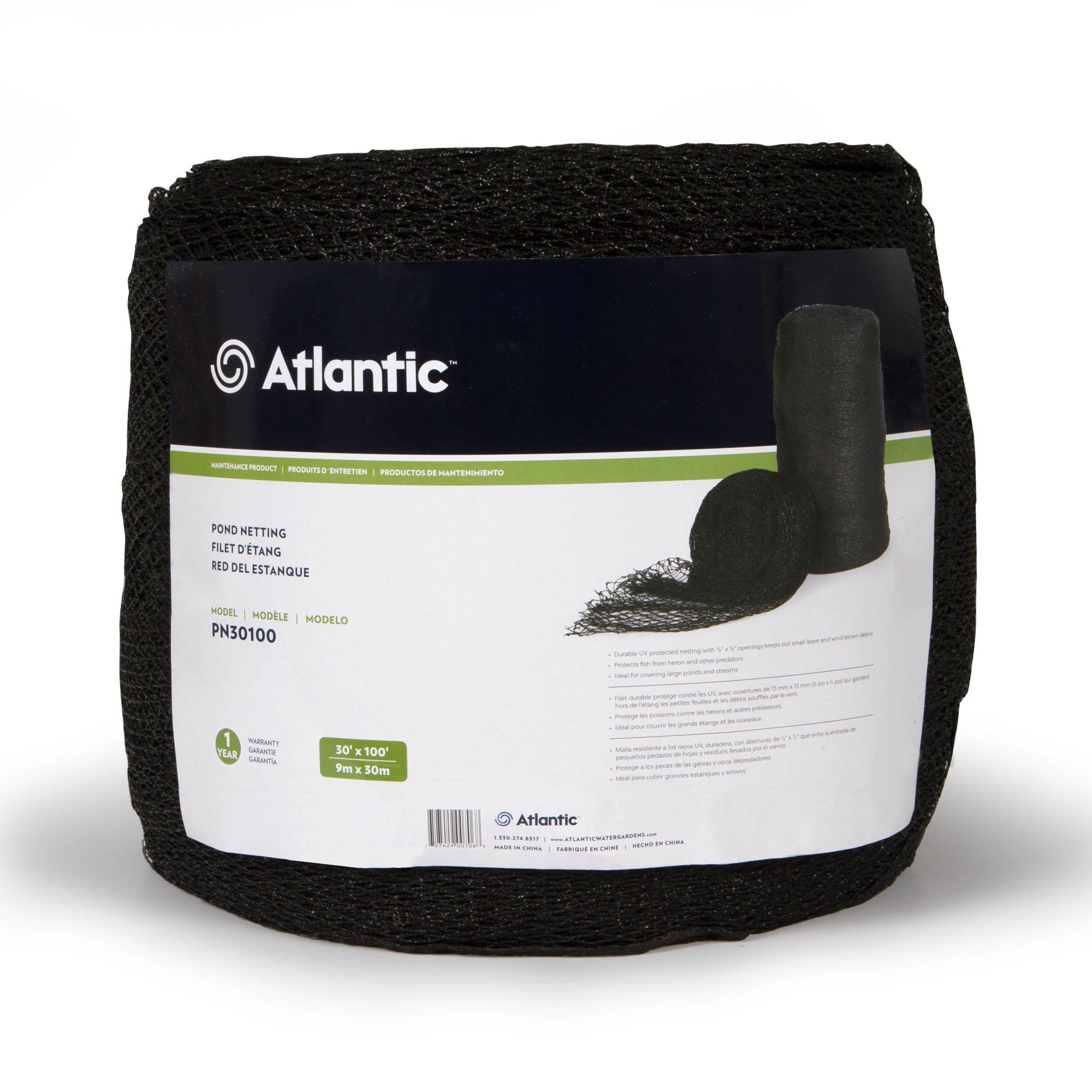 Atlantic Water Gardens PN30100 Heavy-Duty Pond Net, 30-Feet by 100-Feet