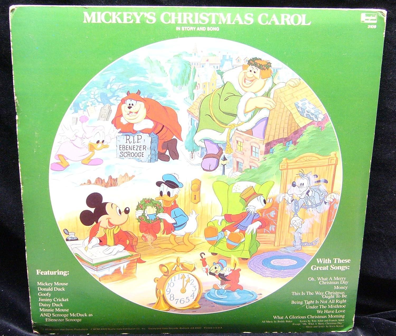 Disney - Walt Disney\'s Mickey\'s Christmas Carol (USA picture disc ...