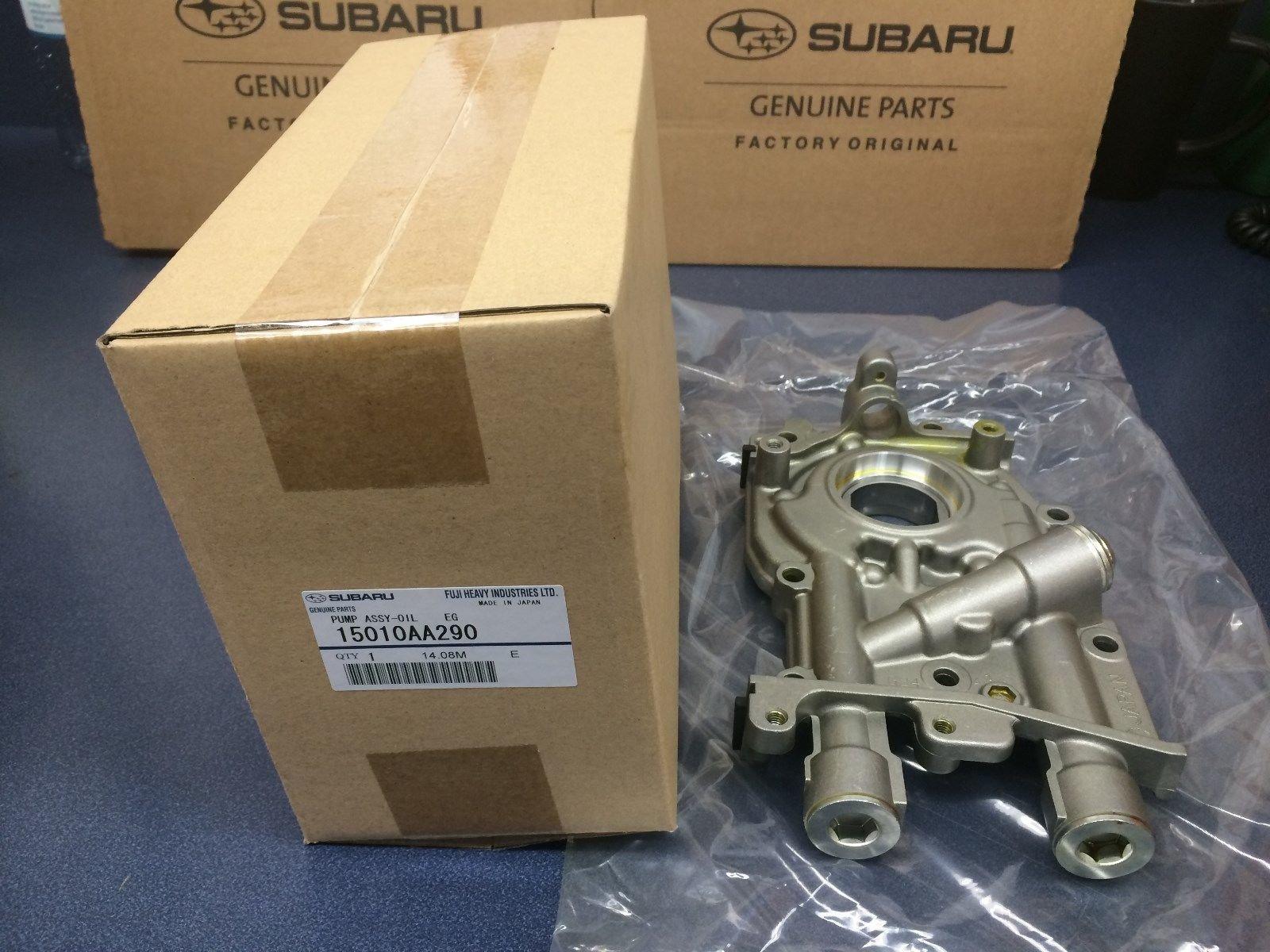 Genuine OEM Subaru Oil Pump Impreza Legacy Forester Baja 2002-2006 2.5 Non turbo 15010AA290 by Subaru