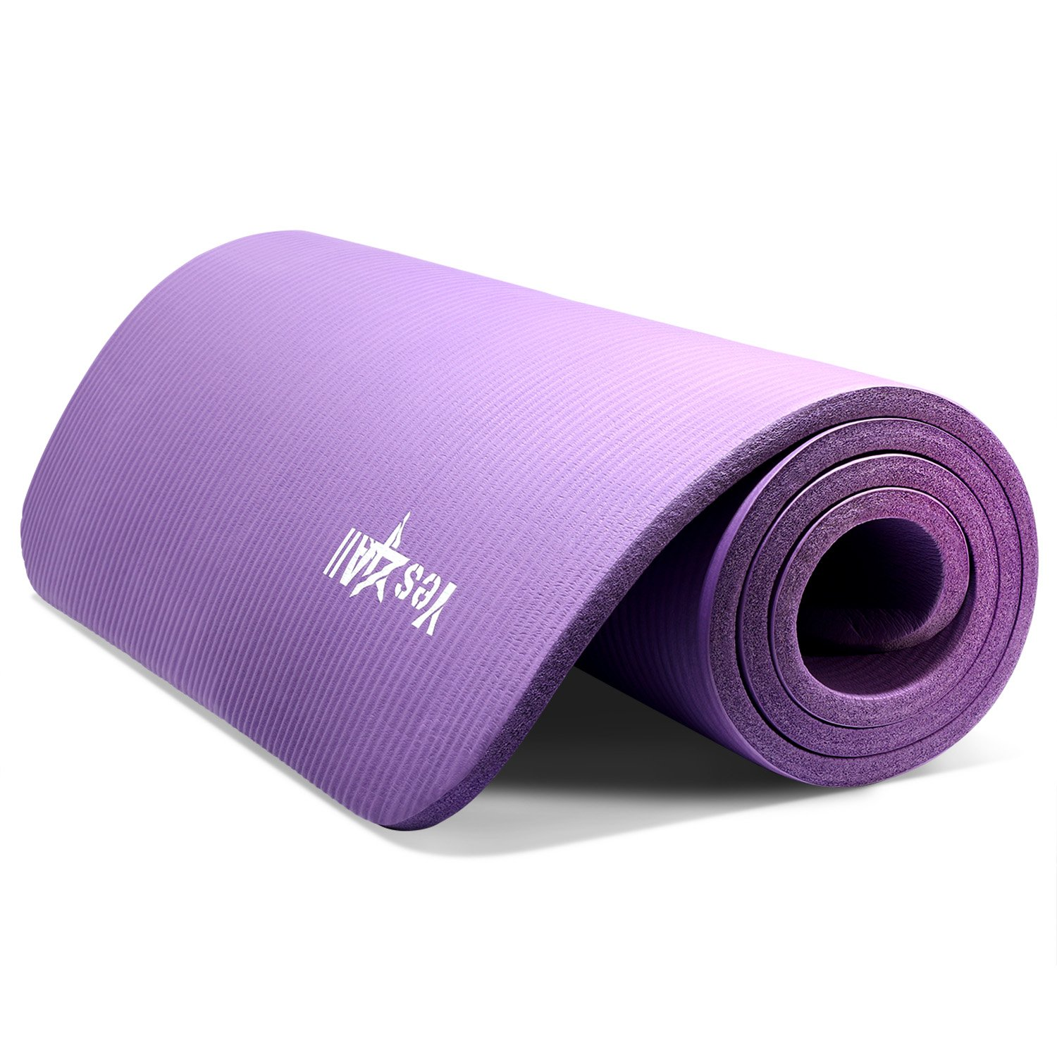 Amazon Yes4All Thick Yoga Mat with Carrying Strap High