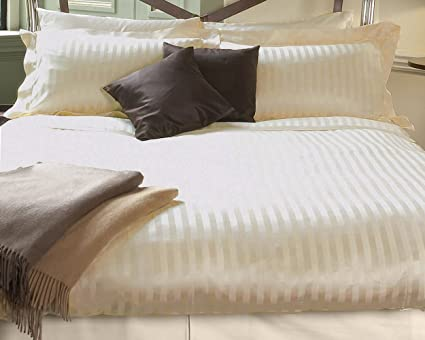 Cannon Double Bed Sheet (Cream)