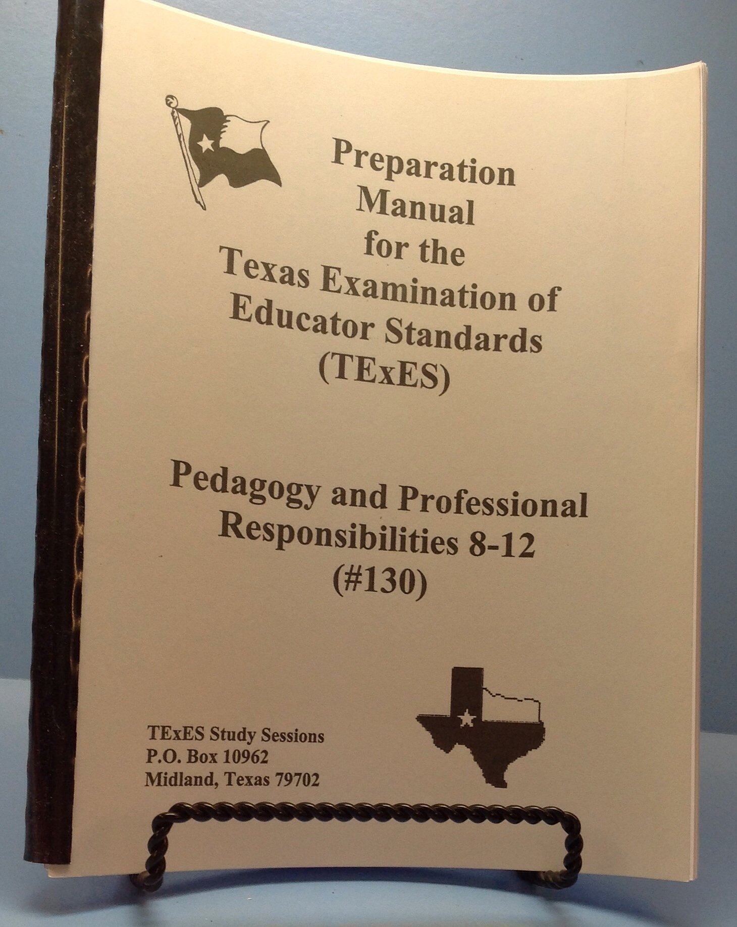 Pedagogy and Professional Responsibilities 8-12 (#130) [Preparation Manual for the Texas Examination of Educator Standards (TExES)] pdf