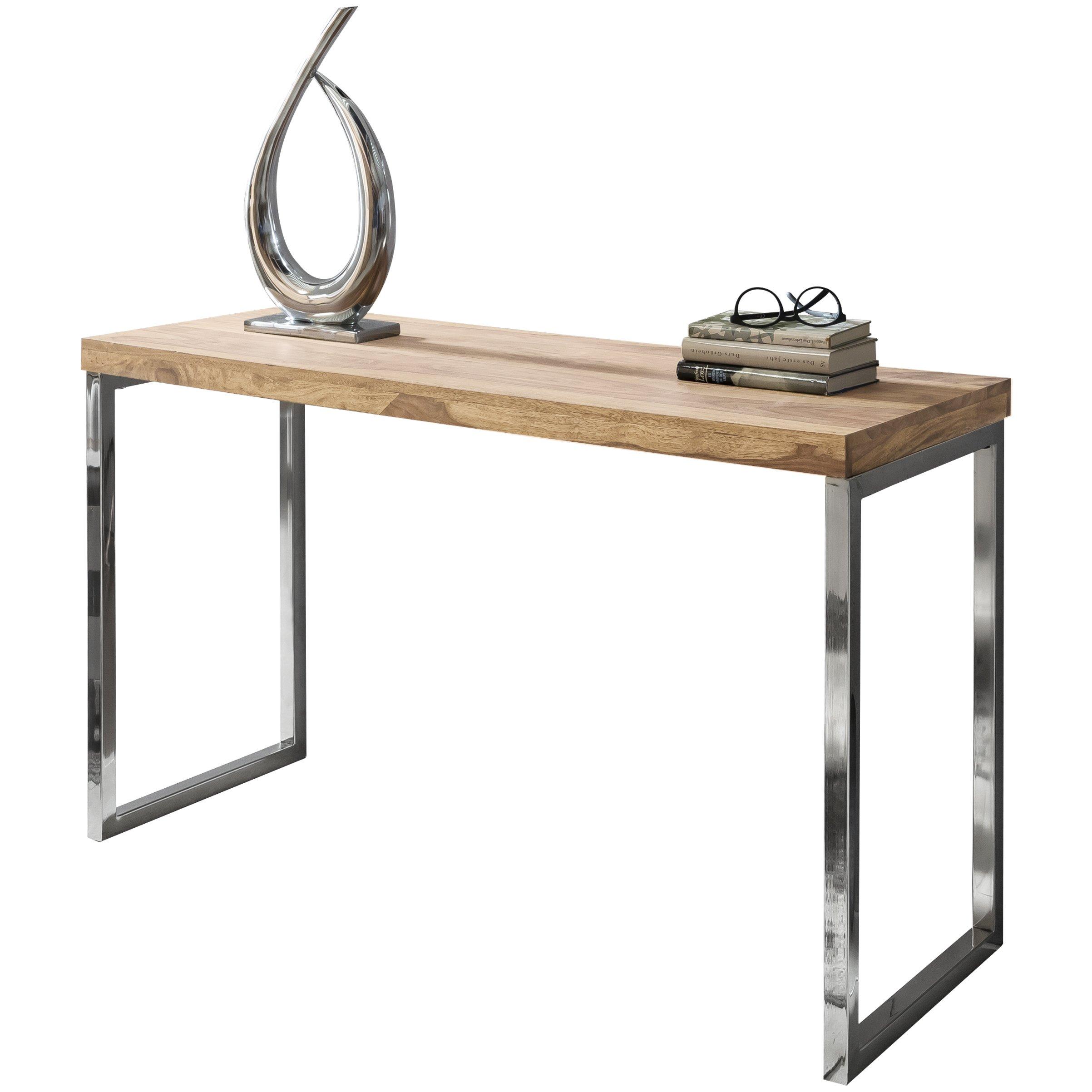 Schreibtisch holz natur  Sideboard Holz massiv: Amazon.de
