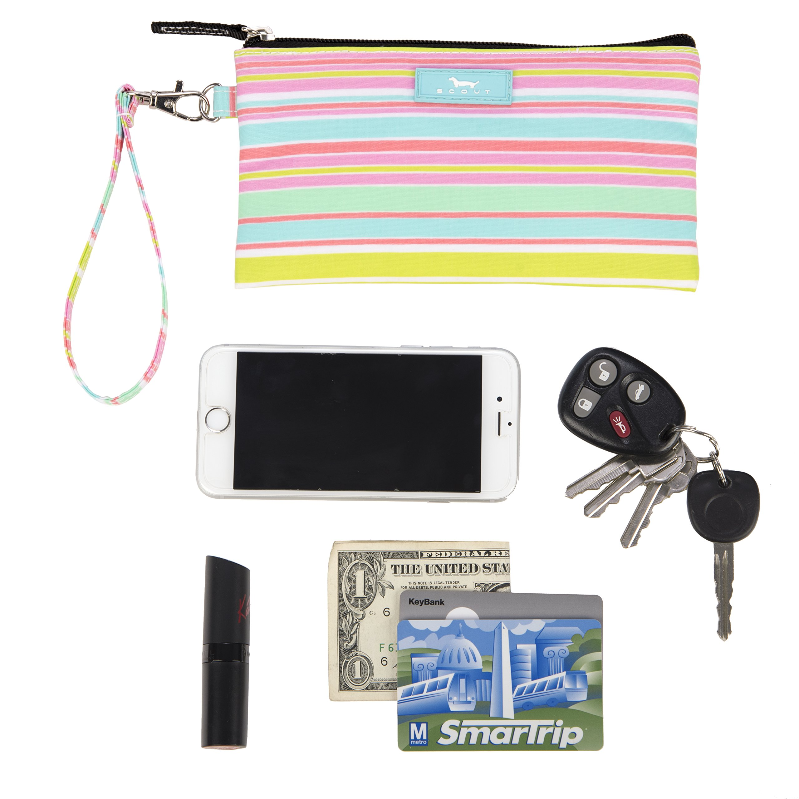 SCOUT Kate Wristlet, Essential Lightweight Clutch, Fits iPhone 6-8, Removable Strap, Water Resistant, Zips Closed, Sol Surfer by SCOUT (Image #3)