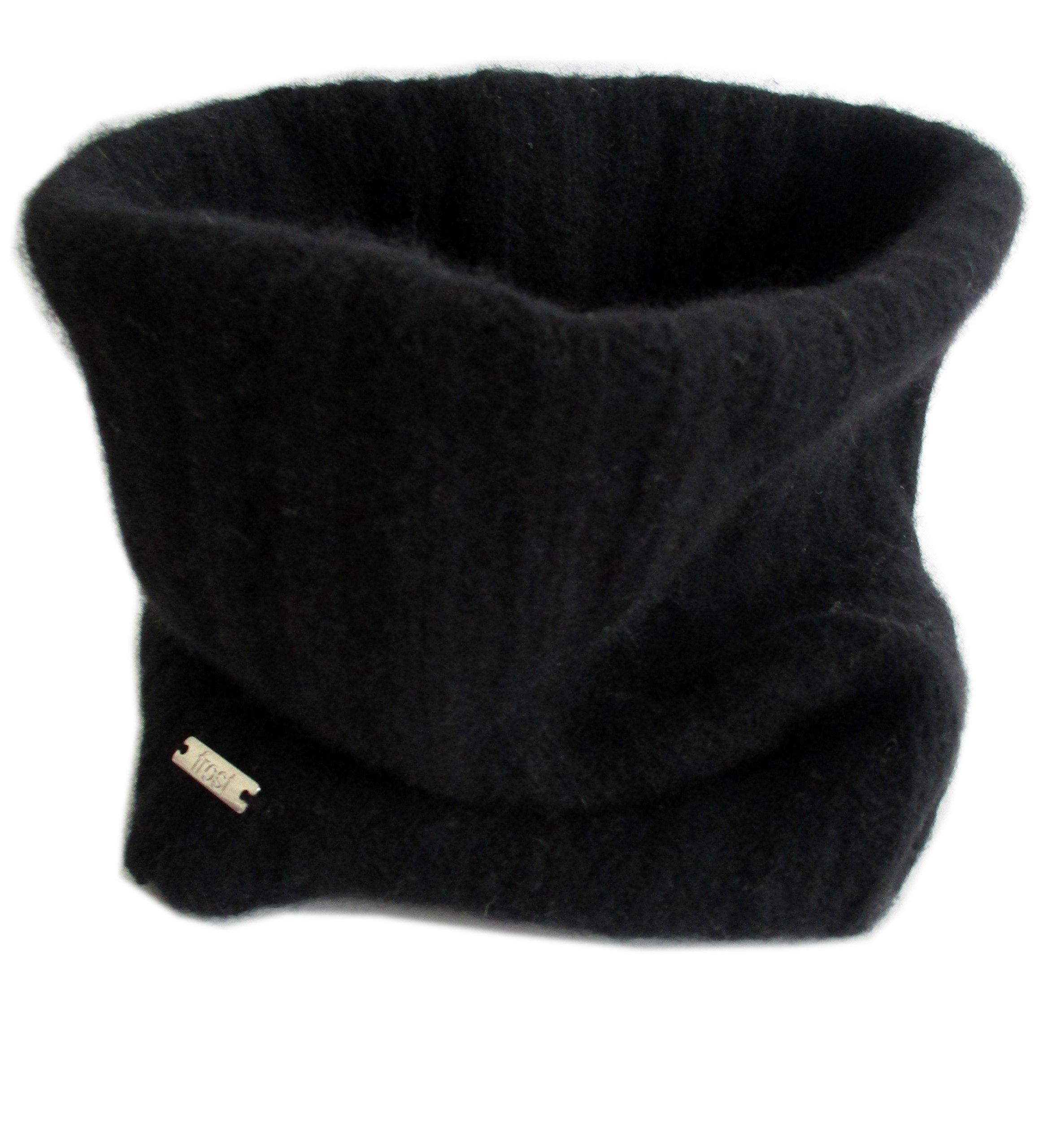 Frost Hats Cashmere Neck Warmer CSH-892 (Black)