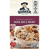 Quaker Instant Oatmeal, Raisin, Date & Walnut, Breakfast Cereal, 10 Packets