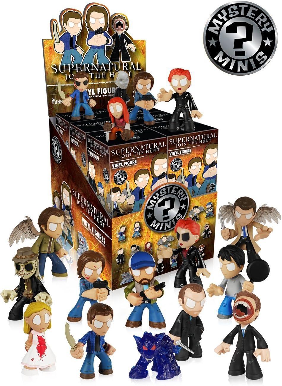 Funko Supernatural Mystery Mini Random Vinyl Action Figure Toy, 5433 (12- Pack): Amazon.es: Juguetes y juegos