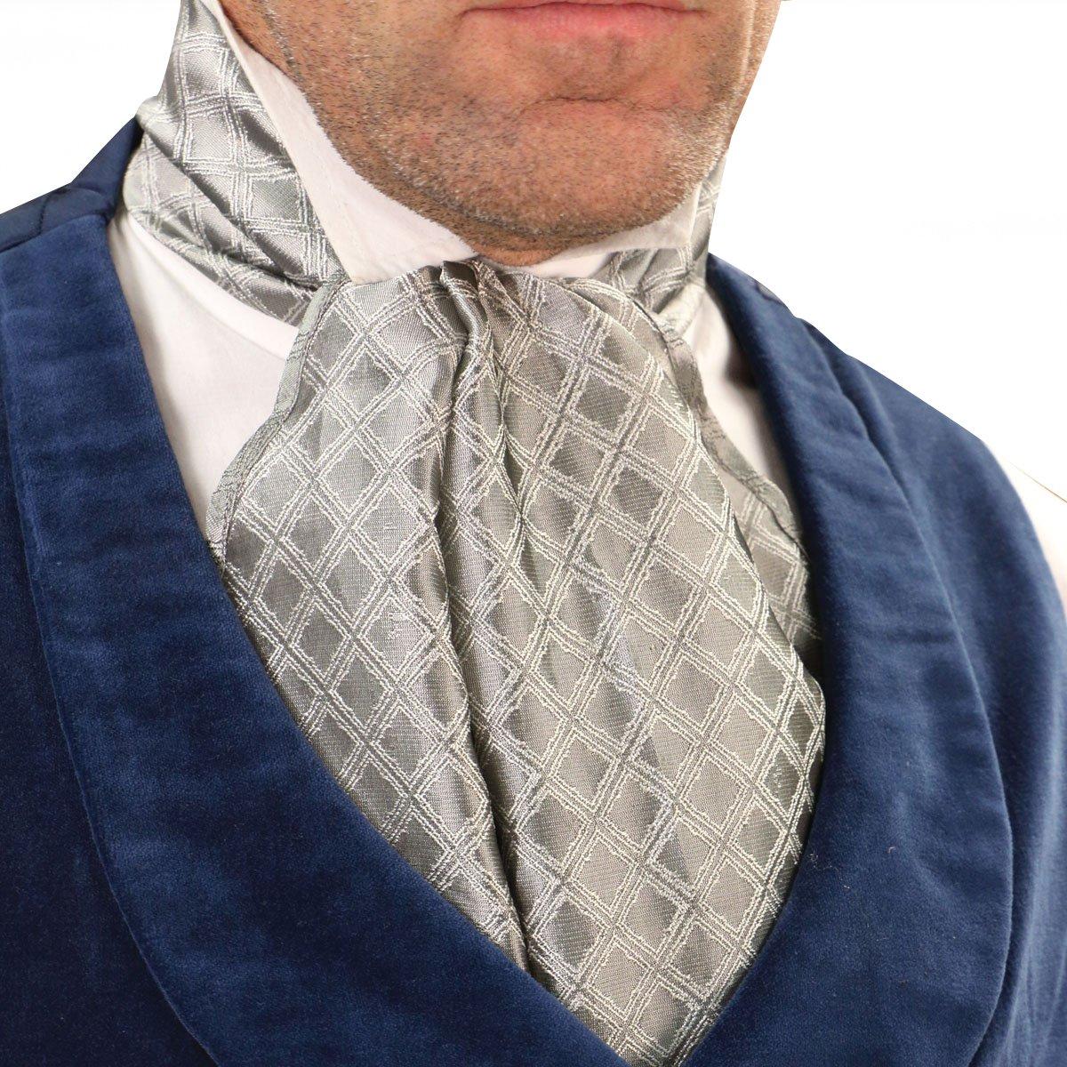 Victorian Formal Cravat Steampunk Ascot Scarf