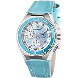 TechnoMarine Women's 110006L Cruise Steel Blue Interchangeable Strap Watch