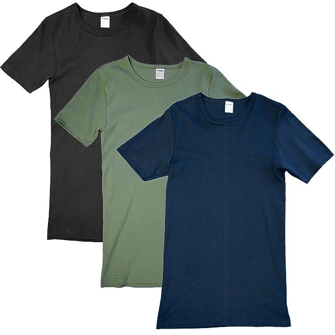 HERMKO 4880 3er Pack Herren kurzarm Business Shirt V-Neck  (Weitere Farben ) 6083fb7ba9