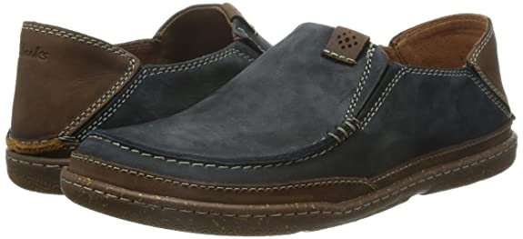 Clarks Men's Trapell Form Nubuck Leather Sneakers