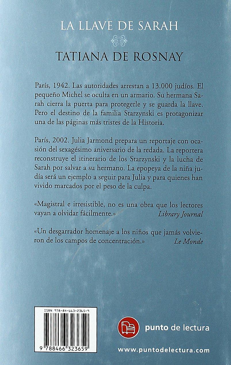 LA LLAVE DE SARAH TD 09 (Punto Lectura Navidad 2009): Amazon ...