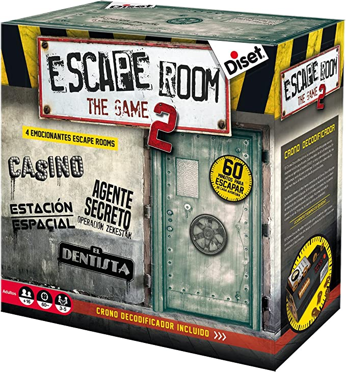 Escape Room- Simula La Experiencia, Multicolor (Diset 17): Amazon ...