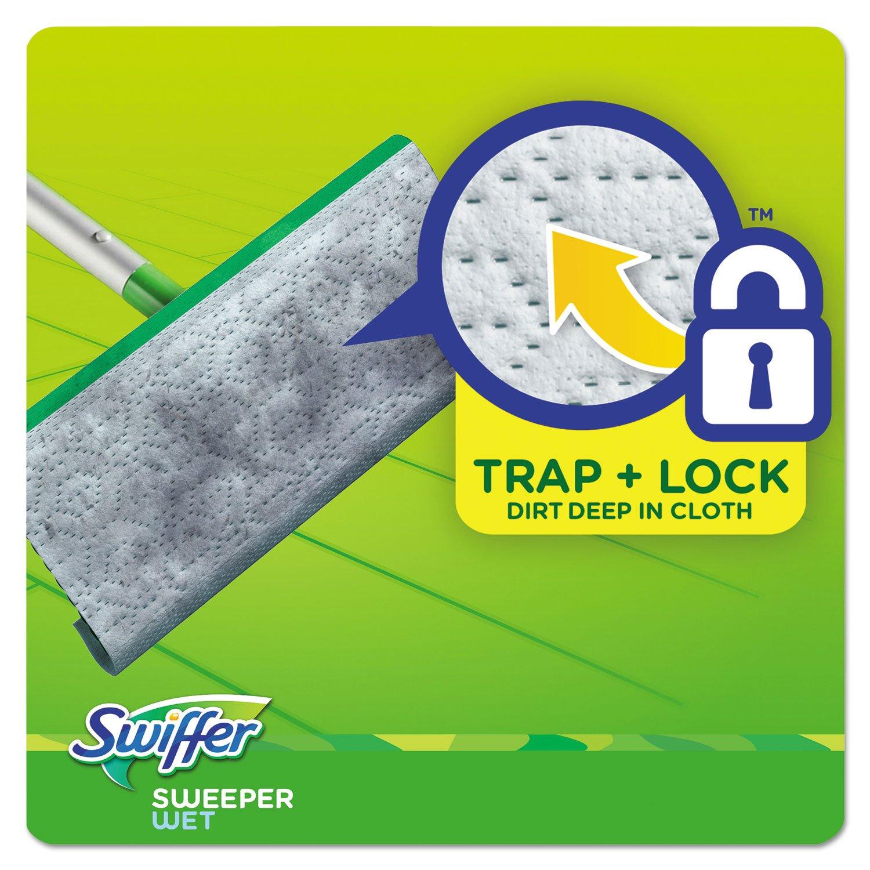 Swiffer paños de recambio para mojado, ganancia Original Scent, blanco, 8 x 10, 24/Unidades, 6 unidades/caja: Amazon.es: Hogar