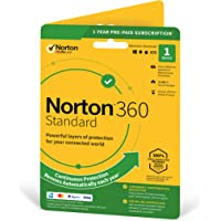 Norton 360 Standard 2020, Antivirus software for 1 Device and 1-year subscription with automatic renewal, Includes…