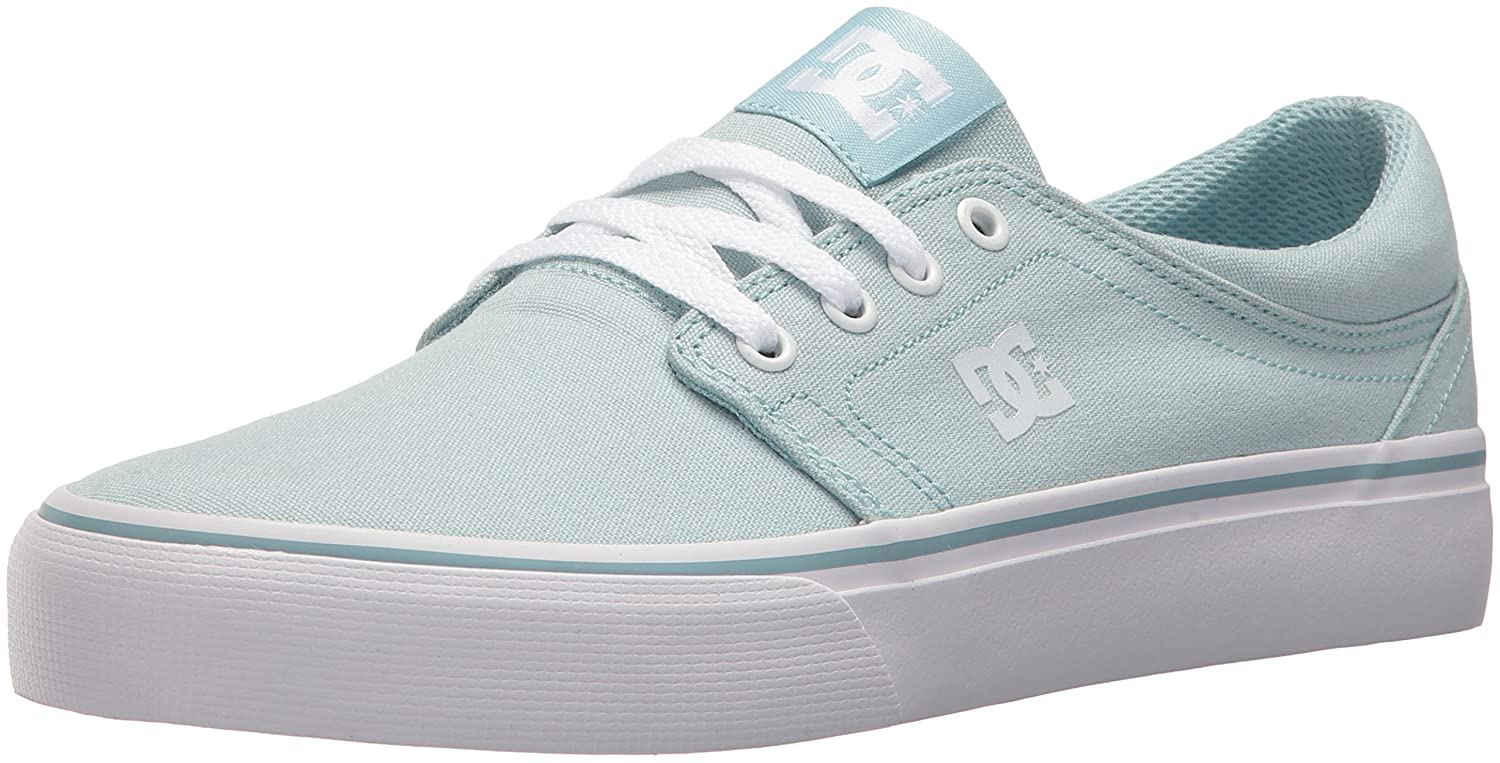 DC Women's Trase TX Skate Shoe B0731YC645 9 B(M) US|Light Blue