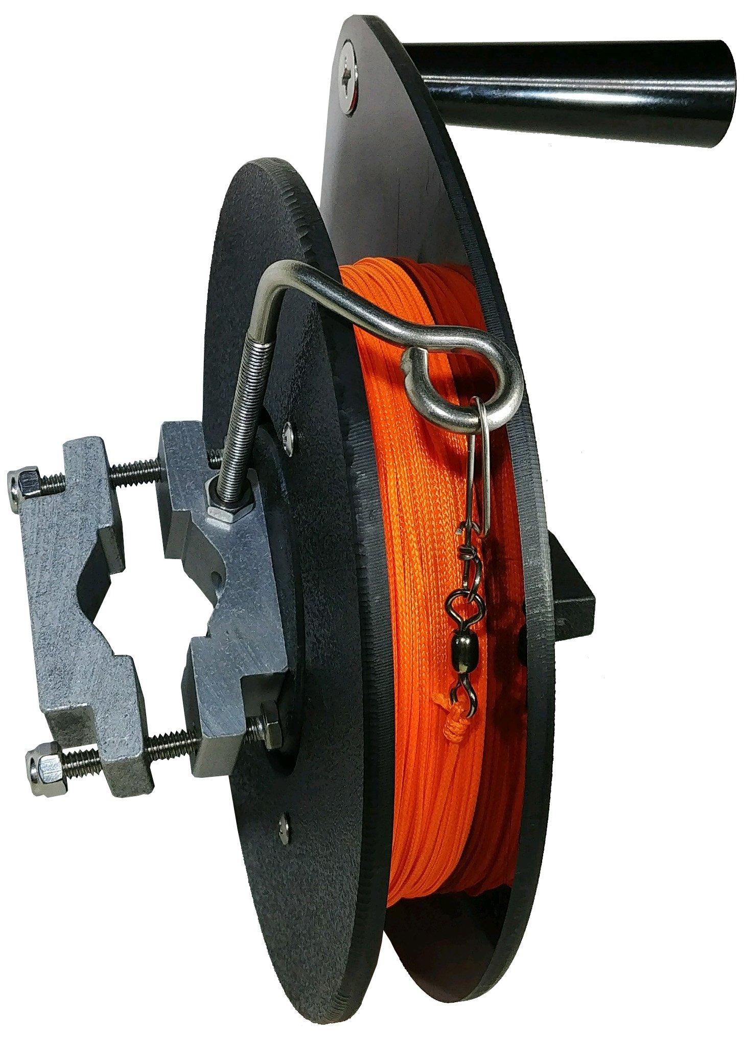 Bert's Custom Tackle Rail Mount Reel by Bert's Custom Tackle