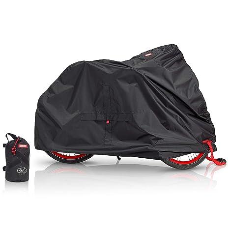 BARTSTR Erstklassige Fahrradabdeckung Optimaler Wetterschutz - Abdeckplane passend für alle Fahrradtypen