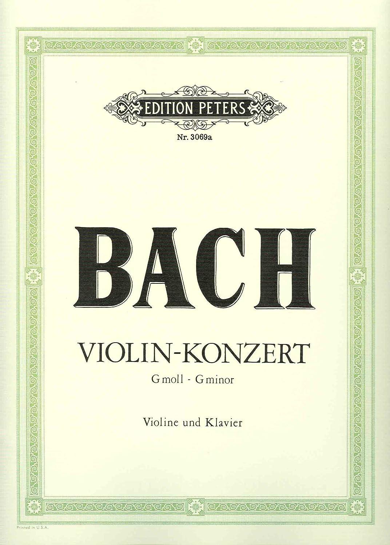 BACH - Concierto nº 5 en Sol menor (BWV:1056) para Violin y Piano ...