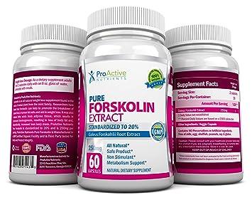 Que es la forskolina efectos secundarios