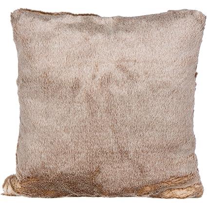Amazon SLPR Faux Fur Pillow Cover 40 X 40 Champagne Soft Best Grey Faux Fur Pillow Covers