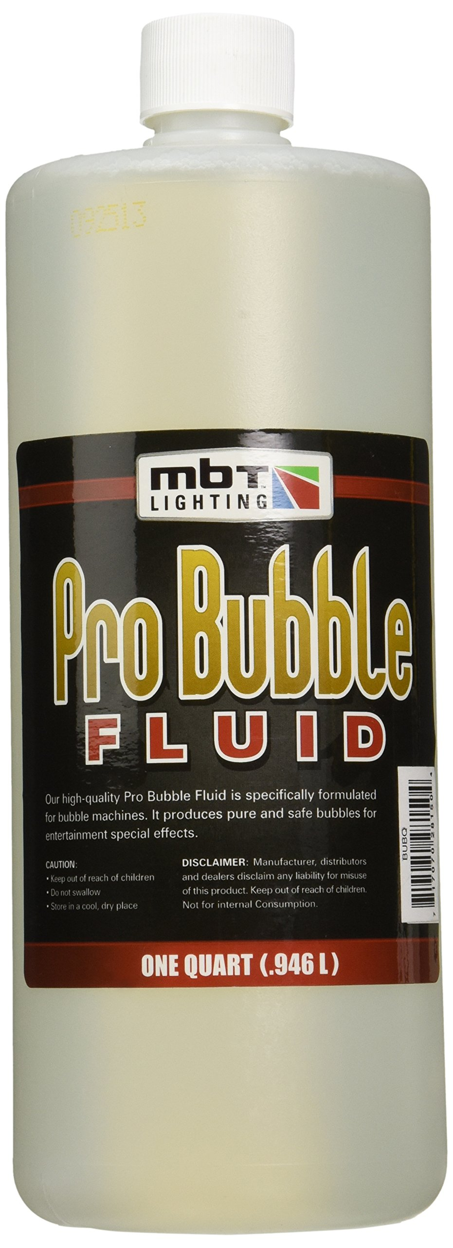 MBT Lighting BUBQ Professional Bubble Fluid