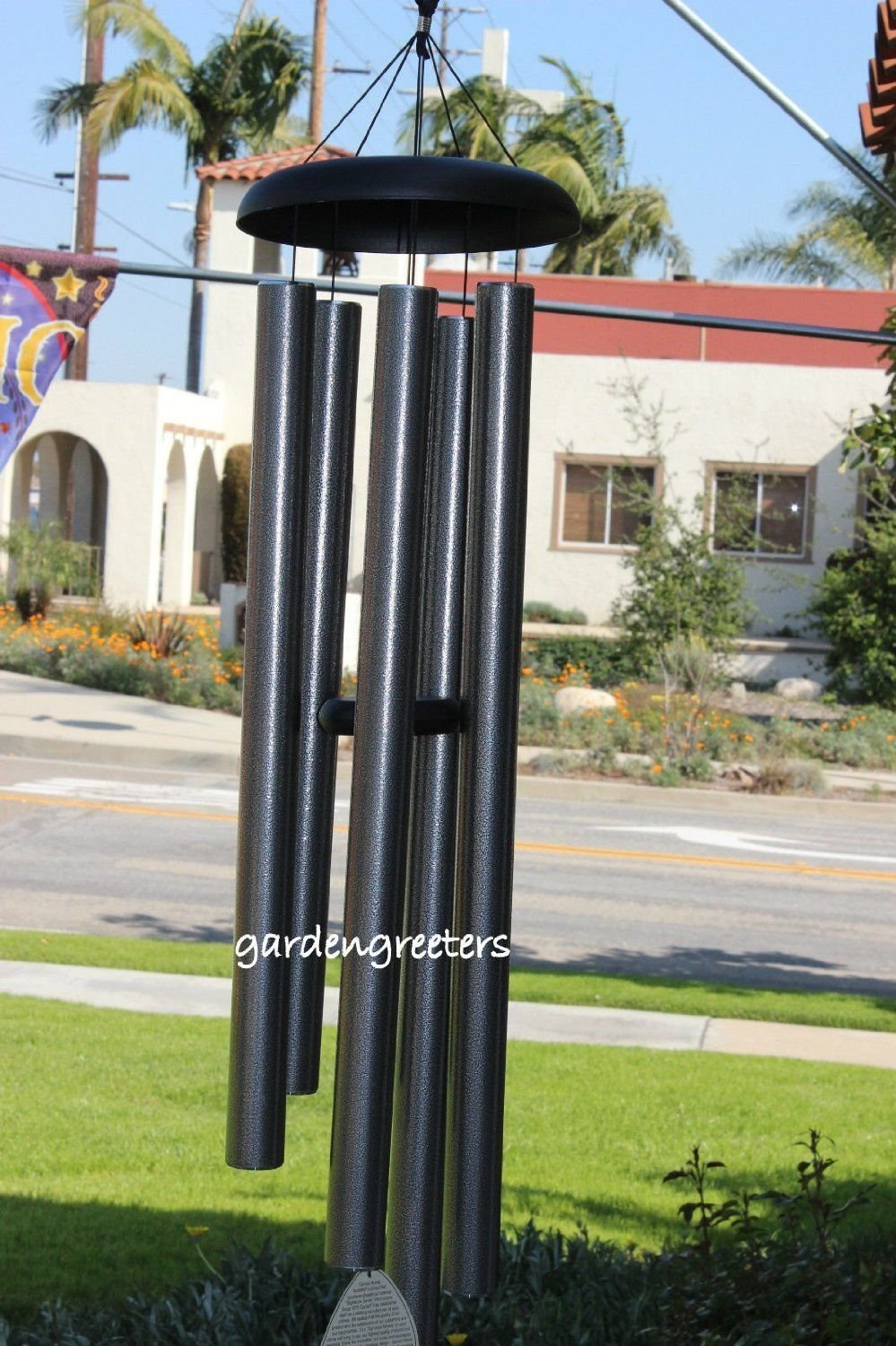 LARGE 50'' WIND CHIME LARGE WIND CHIME - PEWTER