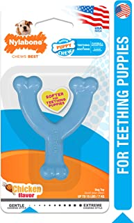 product image for Nylabone Puppy Chew Toy Wishbone