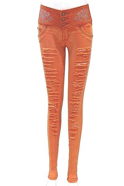 ZARINA Pantalon de Vaquero para Mujer 4487438b0ee1