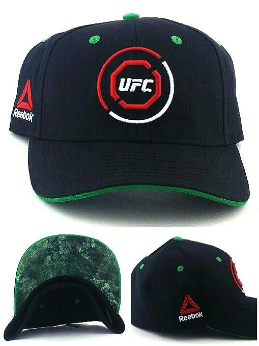 e712e526 Amazon.com : UFC Reebok RBK MMA Black Red Green Octagon Fighters ...