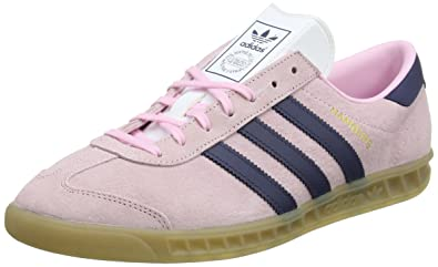 finest selection 66dd8 79c69 adidas Originals Womens Hamburg W Trainers, (Pink), 5 UK 38 EU