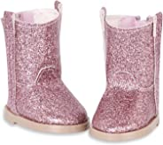 Glitter Girls by Battat – Glitter on the Go Shoes Accessory Set – 14-inch Doll Clothes and Accessories for Girls Age 3 and Up