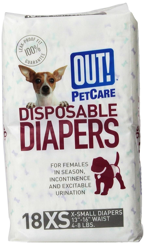 reutilizables JoyDaog duraderos para cachorros peque/ños Juego de 3 pa/ñales para perro