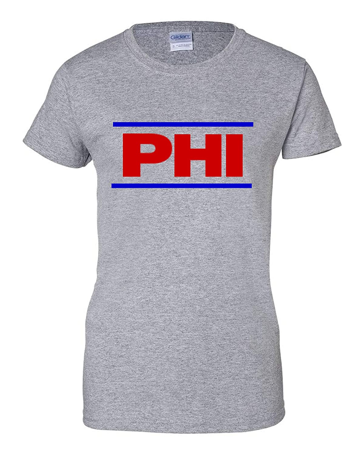 2XL Wallys Custom Apparel Philadelphia T Shirt Gray His and Hers Available Small