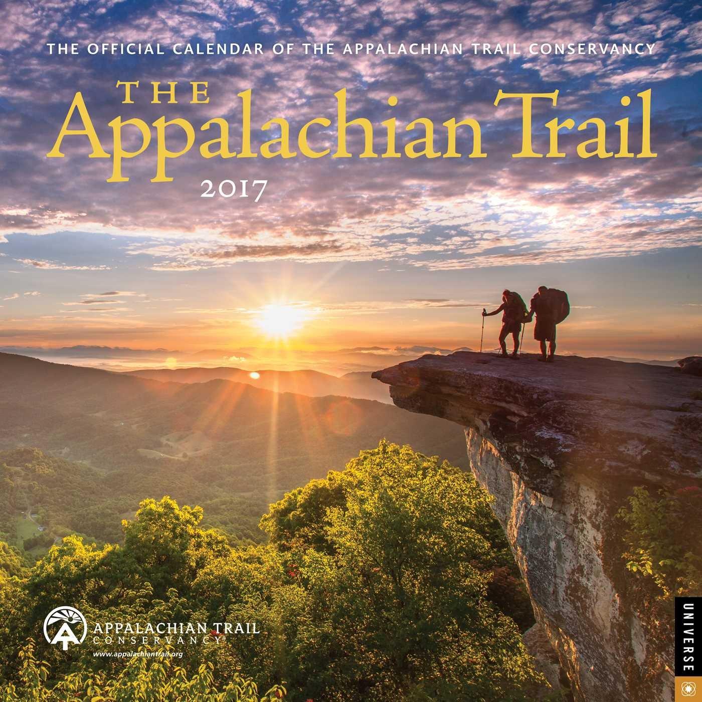 Appalachian Trail 2017 Wall Calendar