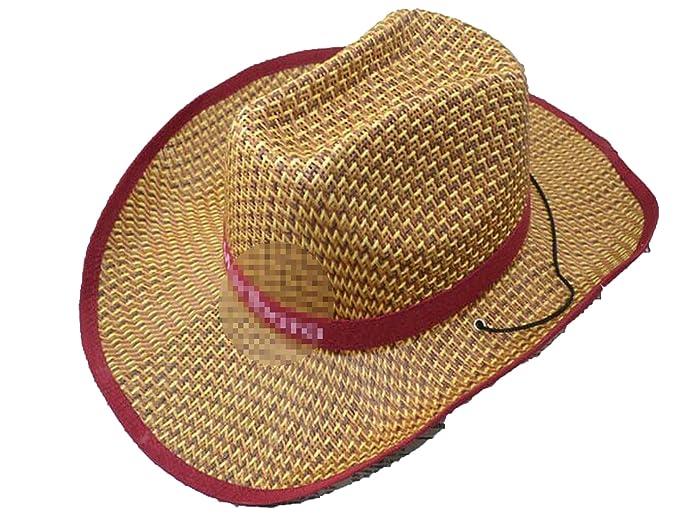 56721ec65 Heart .Attack Hat Western Cowboy Hat Straw Sunhat Men and Women ...