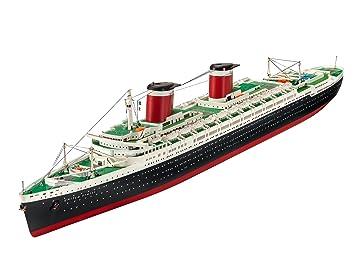 Revell Maqueta de Barco 1: 600 - SS United States en Escala ...