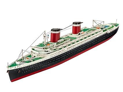 Amazoncom Revell Of Germany Uss United States Hobby Model Kit - Cruise ship model kits