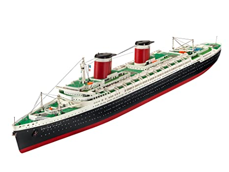 Revell modellino di nave 1: 600 ss united states in scala 1: 600