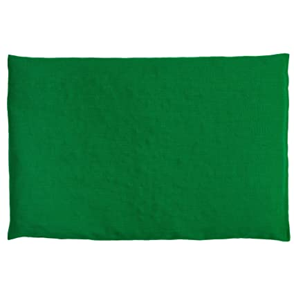Almohada térmica de semillas 30x20cm verde | Saco térmico ...