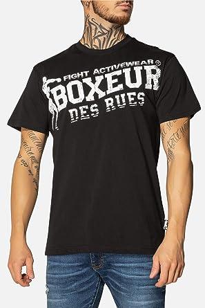 BOXEUR DES RUES Fight Activewear Camiseta, Hombre: Amazon.es: Ropa ...