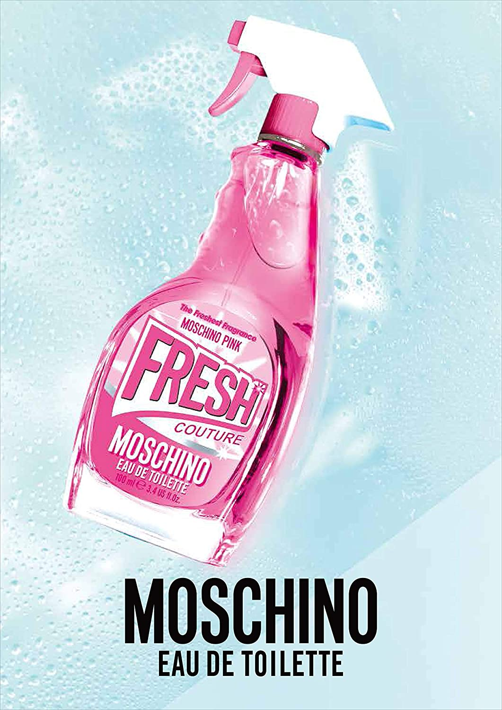 Moschino Pink Fresh Couture Parfümiertes Wasser, 100 ml